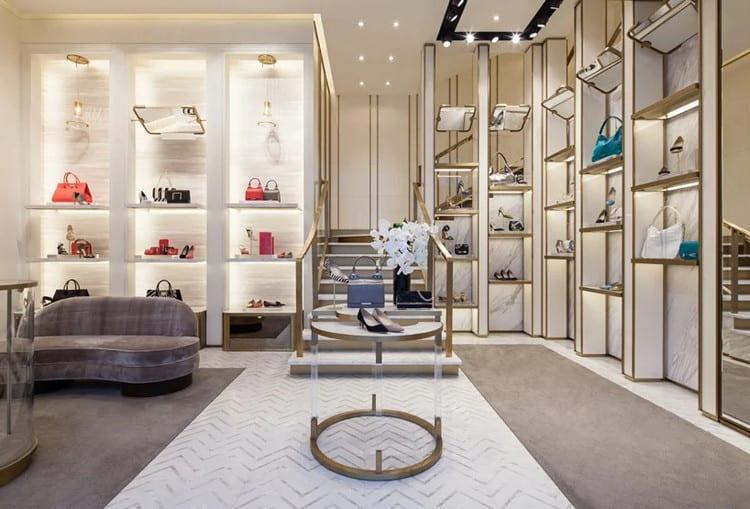 thiết kế shop bán túi xách