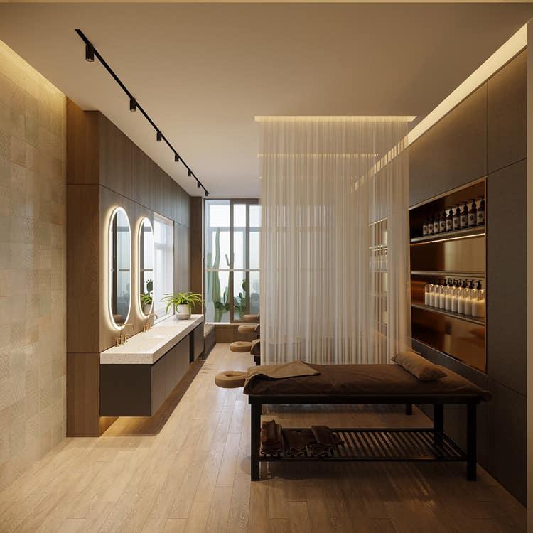 Thiết kế spa hiện đại, cao cấp
