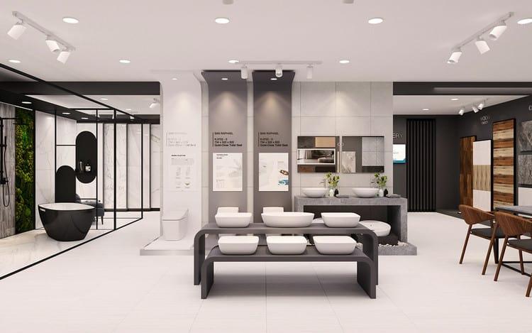 Thiết kế showroom thiết bị vệ sinh