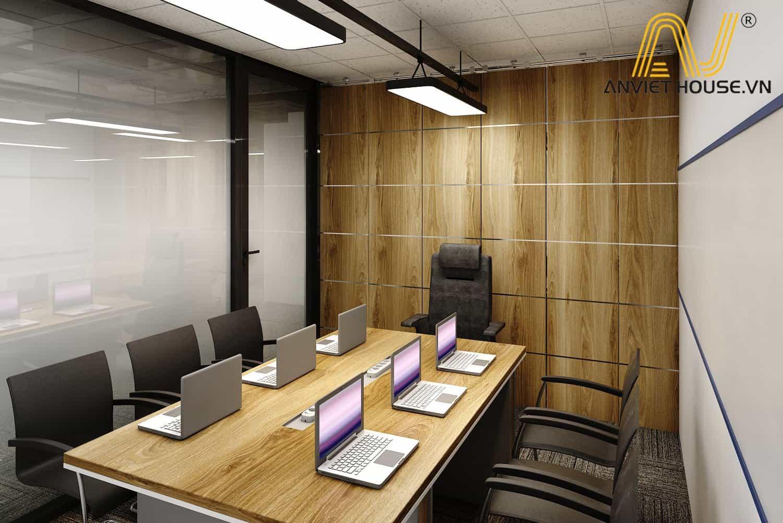 nội thất phòng họp nhỏ công ty PIKOR - An Viet House thiết kế