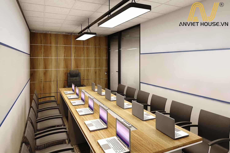 nội thất phòng họp công ty PIKOR - Am Viet House thiết kế
