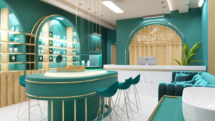 Thiết kế showroom sang trọng