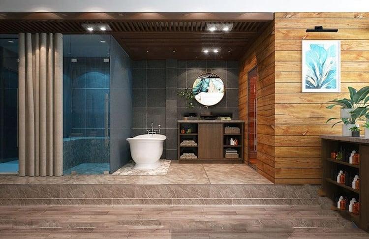 Thiết kế spa đơn giản và hiện đại