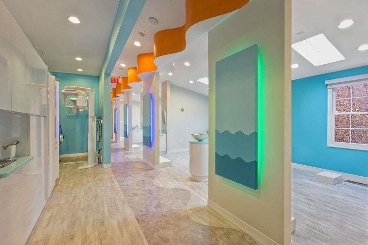 chi phí thiết kế thi công nội thất phòng khám