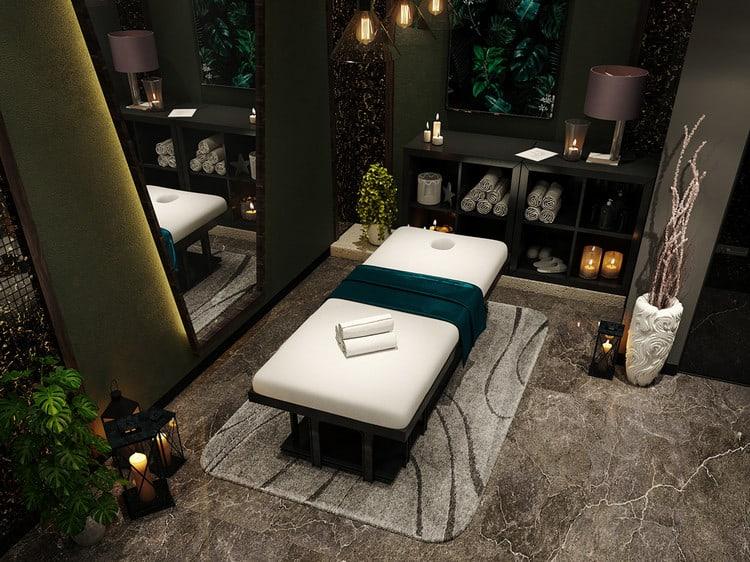 Thiết kế phòng massage độc đáo