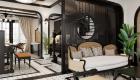 Thiết kế nội thất biệt thự phong cách đông dương