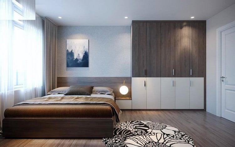 Nội thất phòng ngủ gỗ công nghiệp đẹp