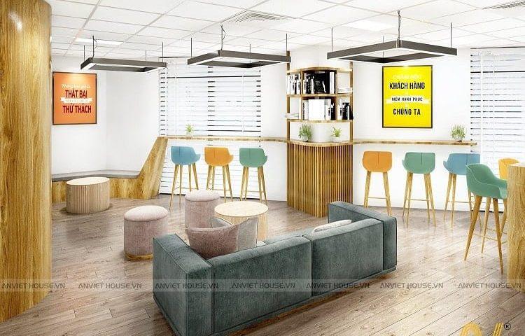 thiết kế nội thất văn phòng ZYYX