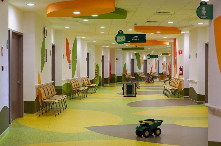 nội thất bệnh viện nhi