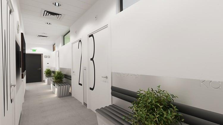 phòng khám hiện đại