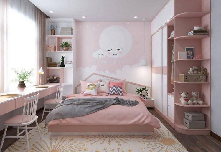 phòng ngủ cho bé diện tích nhỏ