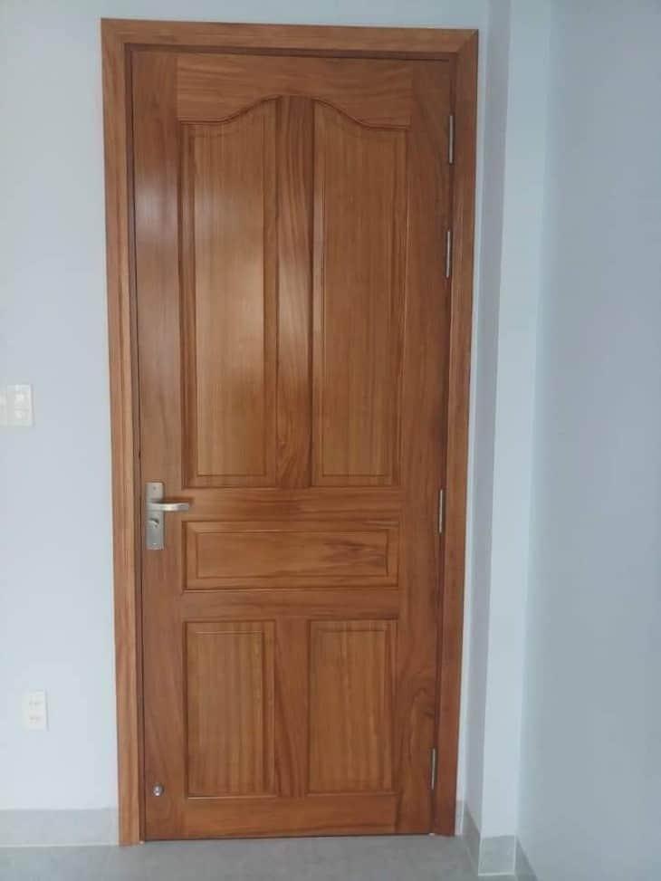 cửa gỗ 1 cánh hiện đại
