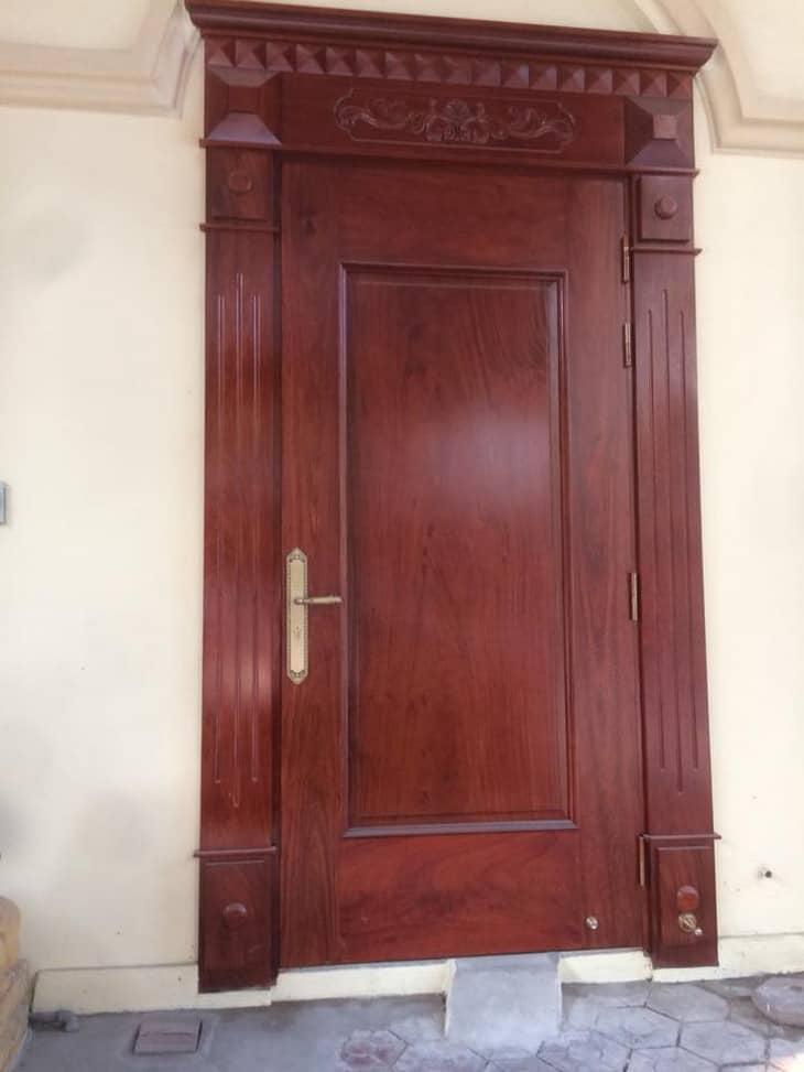 cửa gỗ Lim Lào đẹp