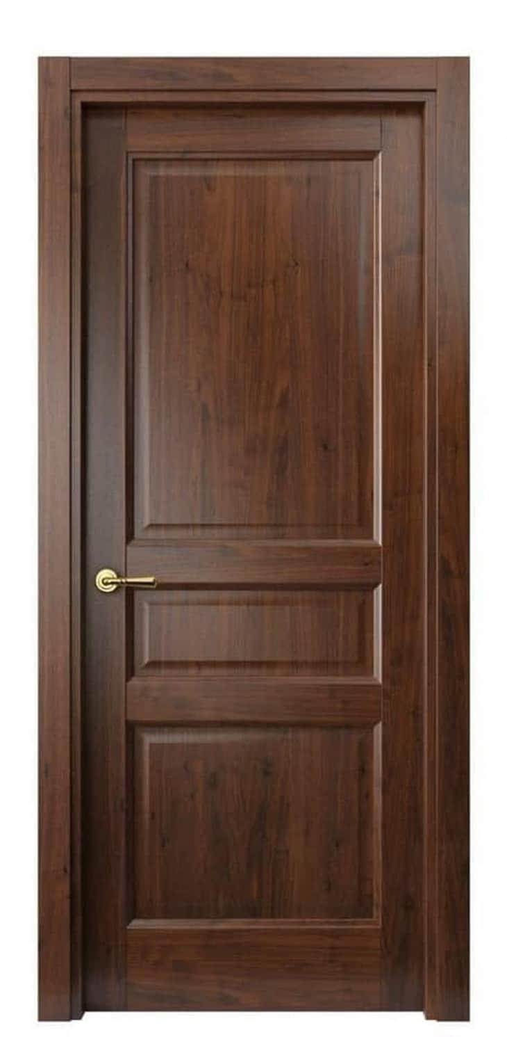 mẫu cửa gỗ óc chó đẹp