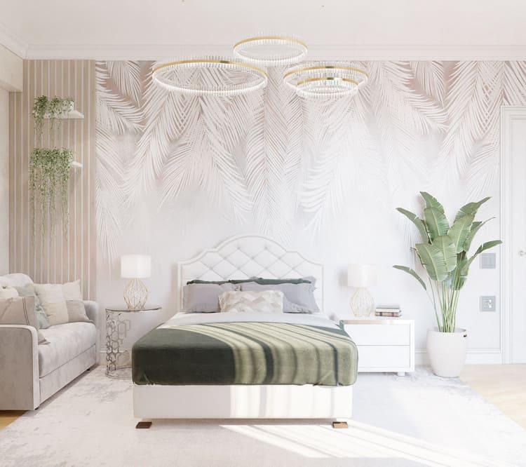 không gian phòng ngủ diện tích rộng