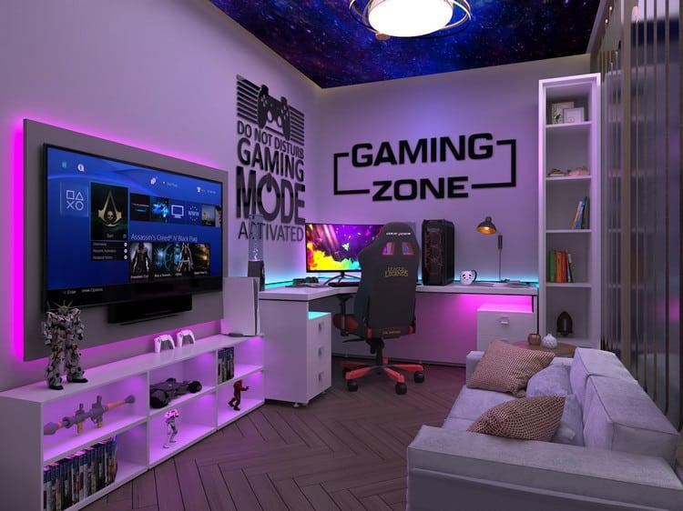 phòng gaming ấn tượng