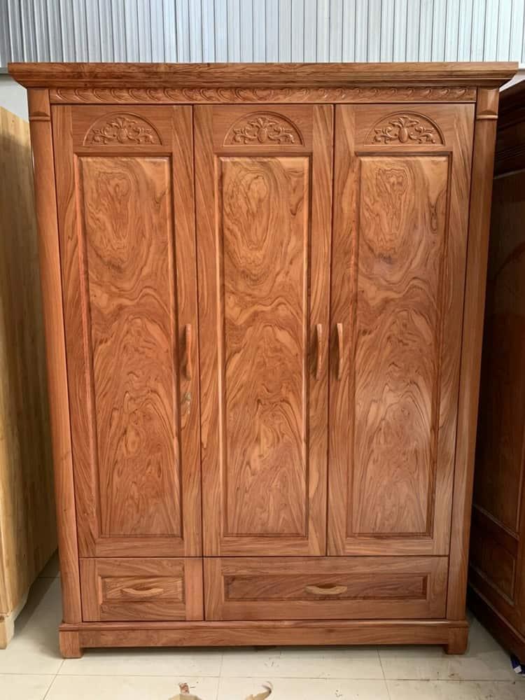tủ gỗ hương xám