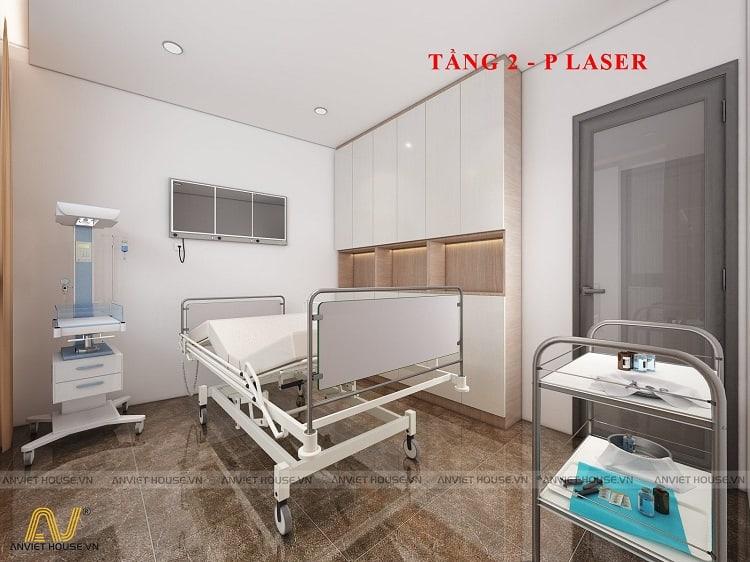 thiết kế phối cảnh 3D showroom mỹ phẩm spa Daysaki