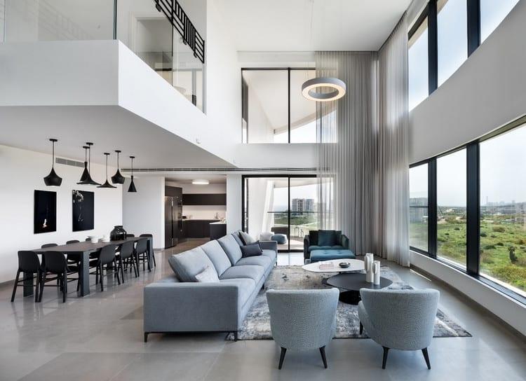 nội thất căn hộ duplex đẹp
