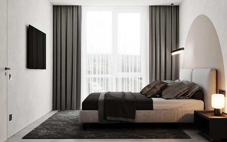 phòng ngủ đẹp cho nam